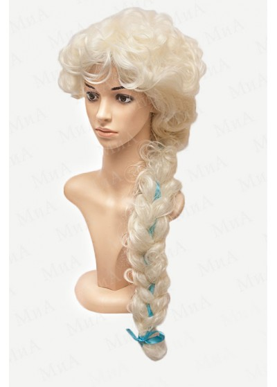Парик Снегурочка Roxie+80/613 A одна коса